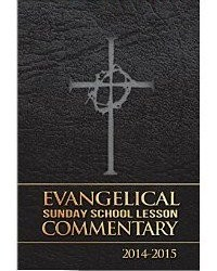 Evangelical Sunday School Lesson Commentary 2014 -2015 Large Print Spiral