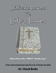 Biblical Answers to Life's Issues- by Dr. Chuck Burks [Digital Download]