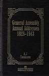 General Assembly Annual Addresses 1928-1943 (Heritage Series Vol. 3)