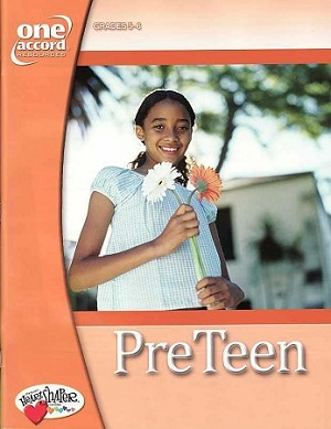 Fall 2019 PreTeen Teaching Resources