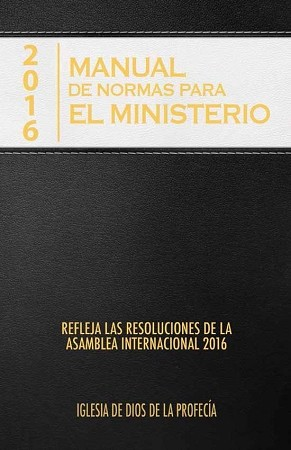 2016 Manual de Normas para el Ministerio [Digital Download]