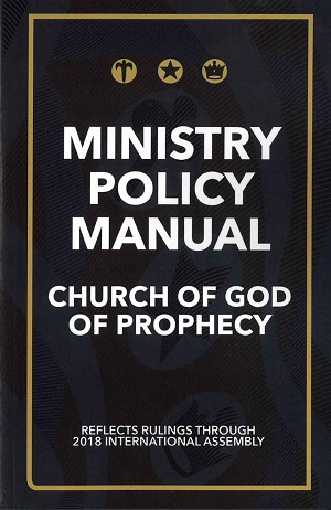 2018 Ministry Policy Manual [Digital Download]